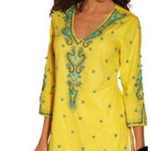 Turquoise Bauble Tunic Top